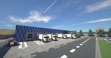 Dealership and Warehouse (Alhutopian Project) Minecraft Map & Project