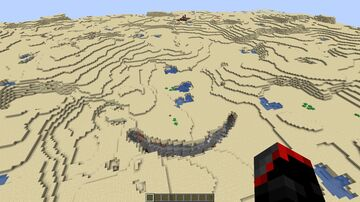 Desert Survival Minecraft Map & Project