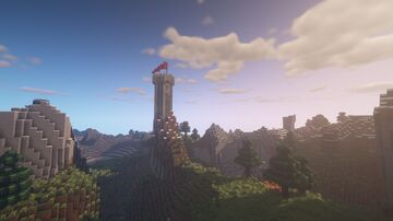 Old tower on the edge Minecraft Map & Project