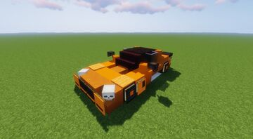 Mercedes Amg GT GTR (Orange) 🟧 Minecraft Map & Project