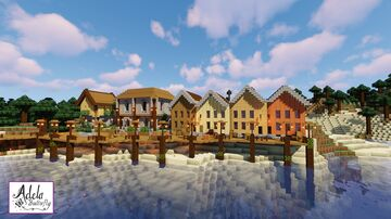 Wood Loch docks in Serengard Minecraft Map & Project