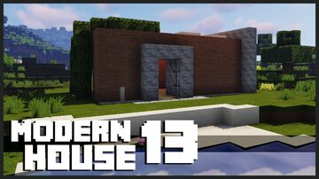 Minecraft Small Modern House + Download : How To Build a Modern House in Minecraft Minecraft Map & Project