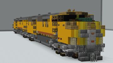 Union Pacific E2 Minecraft Map & Project
