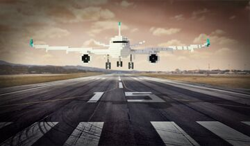 Modern Plane [Download] Minecraft Map & Project