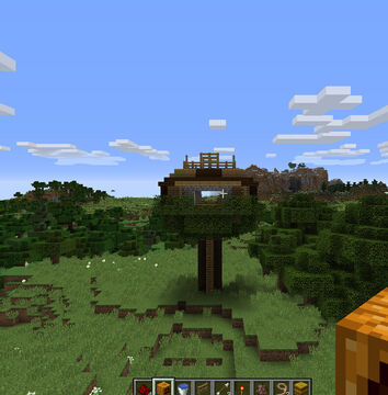 Tree house MCSM Minecraft Map & Project