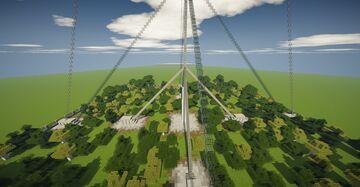 240 meters height radio antenna Minecraft Map & Project