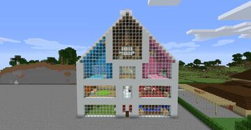 Taylor Swift - Lover music video house Minecraft Map & Project