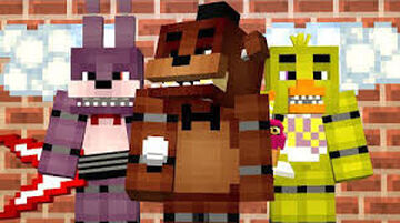 Five Nights At Freddy's 1 Working Cameras and Animatronics!!! Minecraft Map & Project