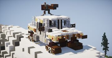 INCEPTION: Dream Humvee (2:1 Scale) Minecraft Map & Project