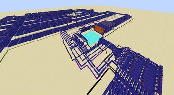 10 Bit Computer Minecraft Map & Project