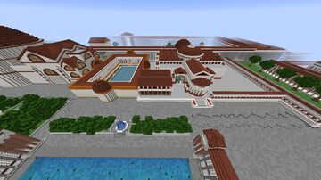 Basilica of Neptune and Baths of Aggripa. Minecraft Map & Project