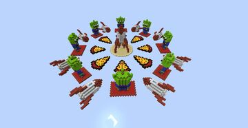 Skywars - Pizzaplanet Minecraft Map & Project