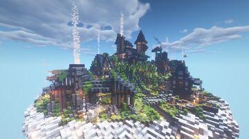 Sky city on a cloud (SKY DEFENDER) [1.15.2] Minecraft Map & Project
