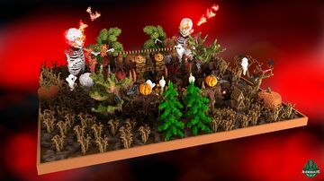 ⭐ EXCLUSIVE ⭐ Skeletons Lobby - AliensBuilds 💀 Minecraft Map & Project