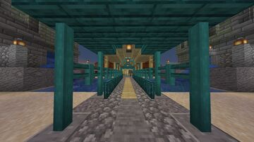 Warp and Birch Craftsman Minecraft Map & Project