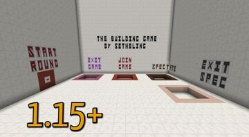 The Building Game by SethBling REMAKE [1.15.2 - 1.16.5] Minecraft Map & Project