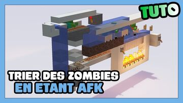 Zombie sorter ! The best way to sort zombie villager being AFK Minecraft Map & Project