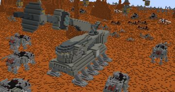 Self-Propelled Heavy Artillery | Minecraft 1.12.2 Minecraft Map & Project