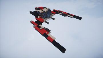 Typhoon CPTL - space battleship | MFC | Minecraft Map & Project