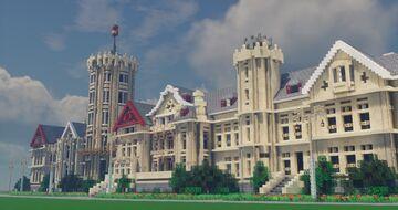 El Palacio de la Magdalena  Santander Minecraft Map & Project