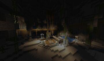 Lobby de Caverna - Cave Lobby Minecraft Map & Project