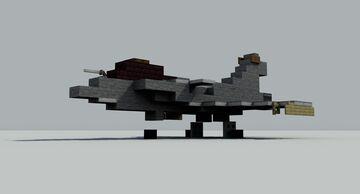 Dassault Rafale C but this time it's a real [1:1] scale with the default pack and there is a video tutorial for it. Minecraft Map & Project