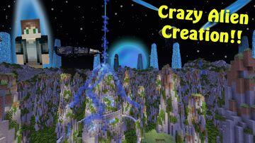 Insane Alien World!!! Minecraft Map & Project