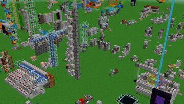 Mysticat's Redstone Tutorial World Minecraft Map & Project