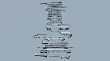 All 37 Bridges of Paris (1:1) Minecraft Map & Project