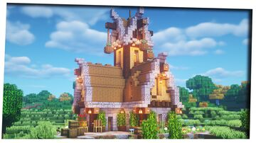 Medieval Enchanting House Minecraft Map & Project