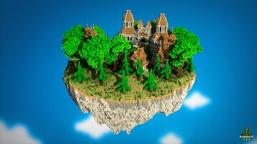 🏯 SkyWars Brown Lobby 🏯 AliensBuilds 🏯 Minecraft Map & Project
