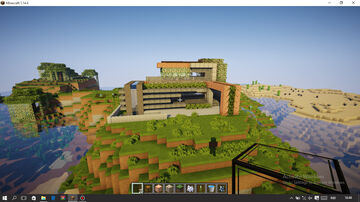 modren mansion.. Minecraft Map & Project