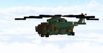 Mi-Mil 8 Minecraft Map & Project