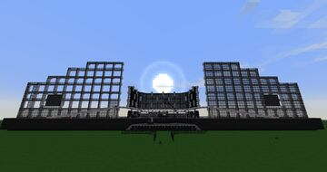 AC/DC Live at Donington 1991 Minecraft Map & Project