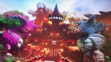 Pokemon Castle Fight Minecraft Map & Project
