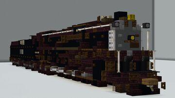 ATSF 5011 Class Minecraft Map & Project