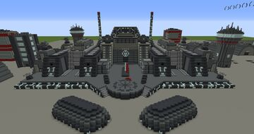 Republic Military base on Coruscant | Minecraft 1.12.2 Minecraft Map & Project
