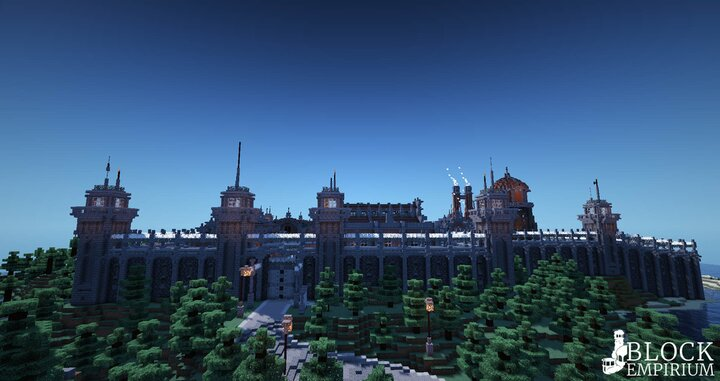 Popular Server Map : The BlockEmp County Jail