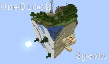 Spawn for Oneblock Minecraft Map & Project