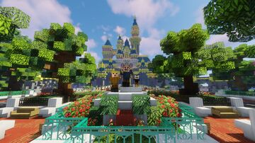 My Disney Obsession Park! Minecraft Map & Project