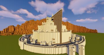 Middle-Earth: Minas Tirith Minecraft Map & Project