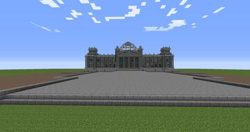 REICHSTAG WORLD WAR 2 FOR CALL TO BATTLE 2 Minecraft Map & Project