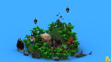 Pirate Server Spawn Minecraft Map & Project