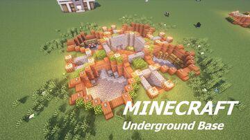Underground Base (Building Tutorial) Minecraft Map & Project