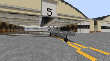 F-14 Tomcat Fighter Minecraft Map & Project