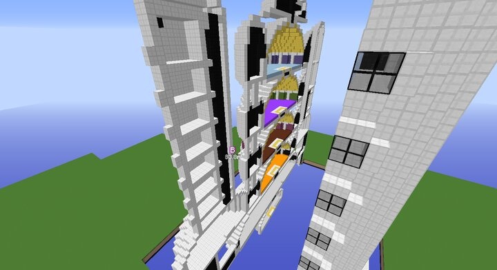 Babidi's Spaceship inside