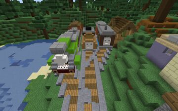 The Island of Sodor | Railway Series Map Minecraft Map & Project