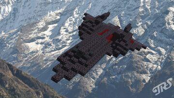 SR-71 Blackbird 1:1 Minecraft Map & Project