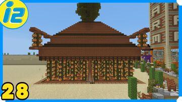 Too Big Cocoa Bean Farm Minecraft Map & Project