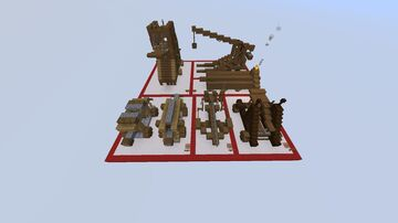 Siege Weapons Bundle Minecraft Map & Project